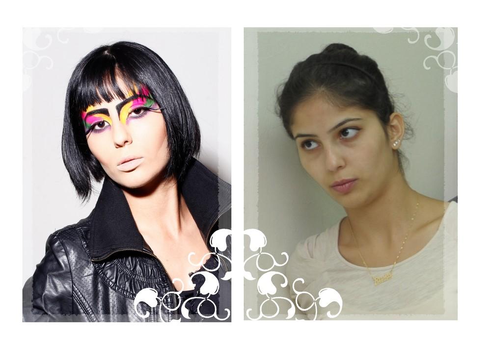 איפור ועיצוב שיער לכלות אופנה ומדיה- תהילה אזולאי