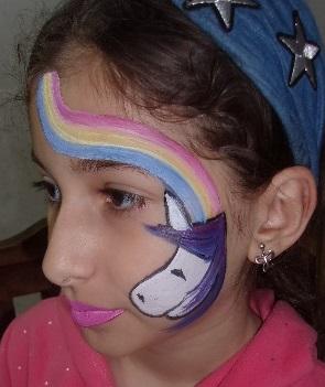 ציורי פנים תהילה אזולאי